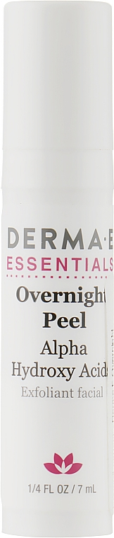 Ночной пилинг - Derma E Overnight Peel (мини)