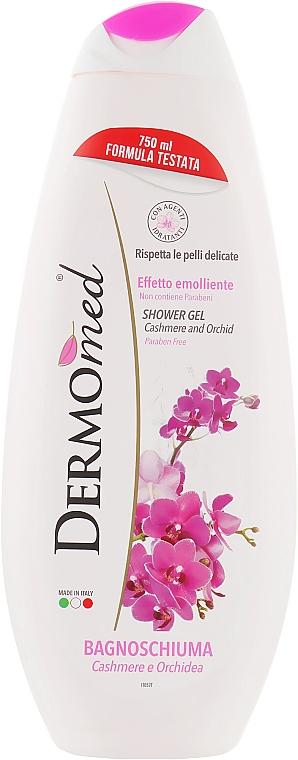"Гель для душа ""Кашемир и орхидея"" - Dermomed Shower Gel Cashmere Orchid"