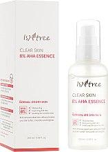 Парфумерія, косметика Есенція для обличчя з молочною та гліколевою кислотою - IsNtree Clear Skin 8% Aha Essence