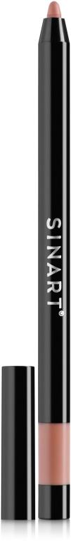 Карандаш для губ - Sinart Lipliner Pro Long Wear & Waterproof