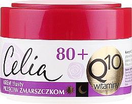 """Духи, Парфюмерия, косметика Насыщенный крем от морщин """"Витаминный"""" - Celia Q10 Face Cream 80+"""