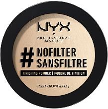 Духи, Парфюмерия, косметика Компактная фиксирующая пудра - NYX Professional Makeup NoFilter Finishing Powder