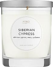 Духи, Парфюмерия, косметика Kobo Siberian Cypress - Ароматическая свеча