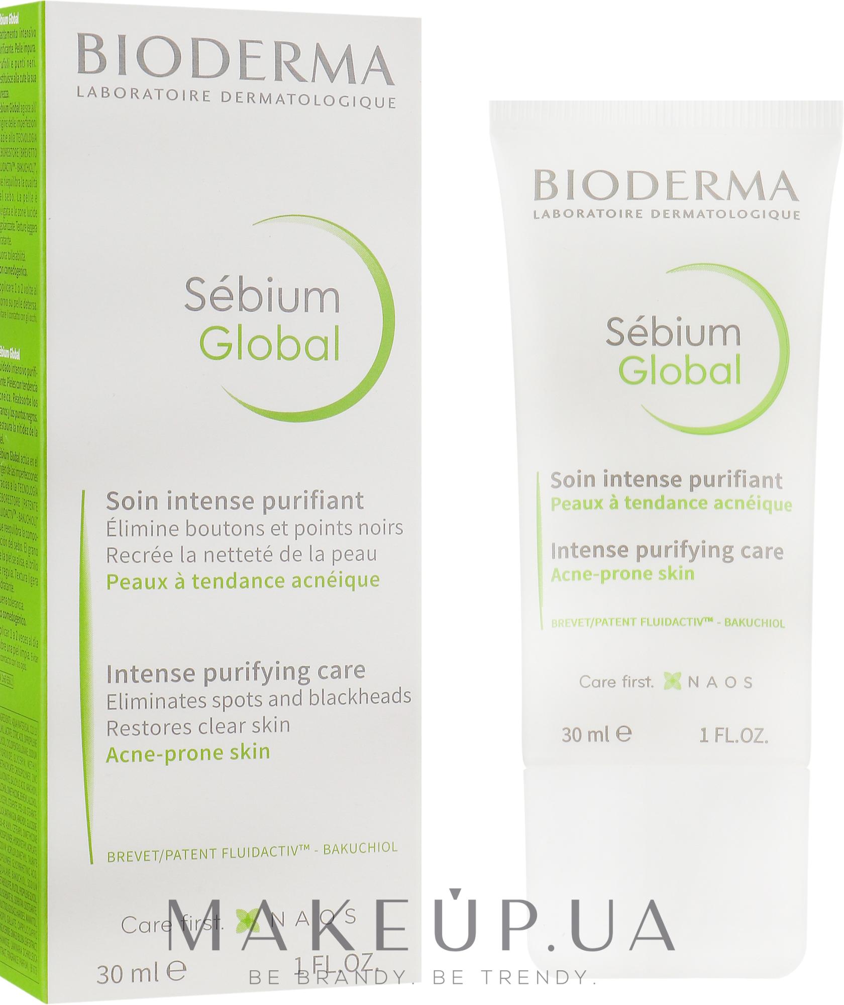 Оздоравливающий уход - Bioderma Sebium Global — фото 30ml