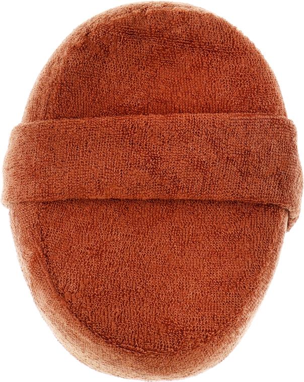 Мочалка для душа, 7991, коричневая - SPL Massage Shower Sponge