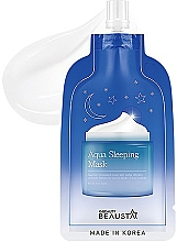 Духи, Парфюмерия, косметика Ночная увлажняющая маска для лица с арома-маслами - Beausta Aqua Sleeping Mask