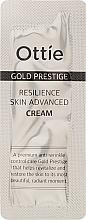 Духи, Парфюмерия, косметика Антивозрастной крем для упругости кожи лица - Ottie Gold Prestige Resilience Advanced Cream (пробник)