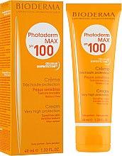 Духи, Парфюмерия, косметика Солнцезащитный крем - Bioderma Photoderm Max Spf 100 Sun Cream