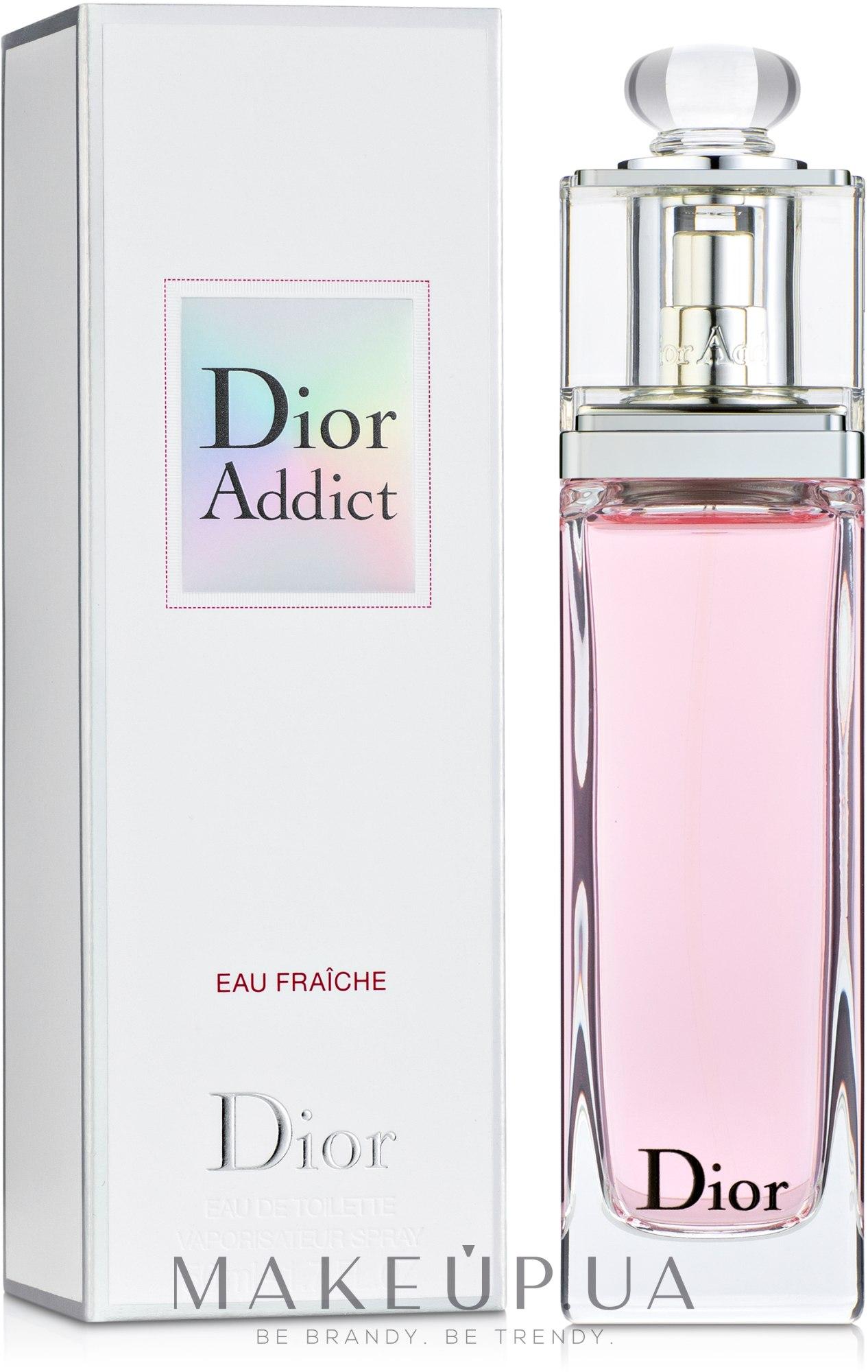 Dior Addict Eau Fraiche - Туалетная вода — фото 50ml