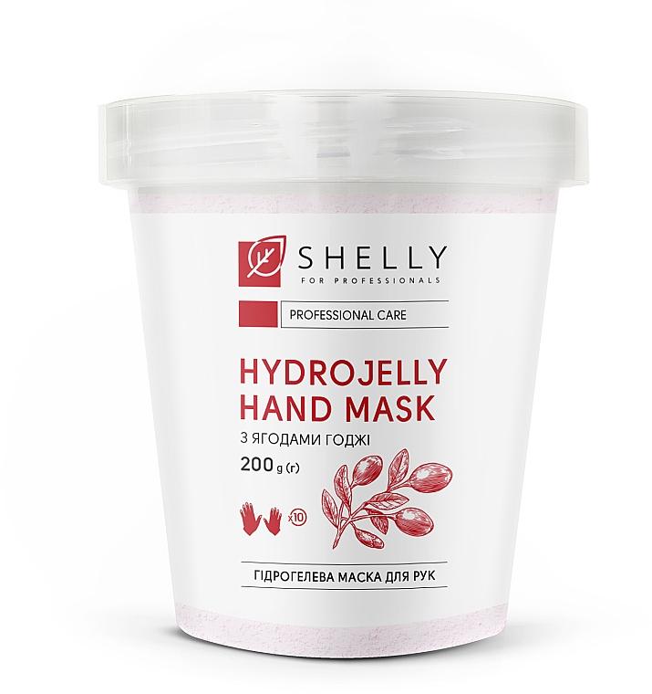 Гидрогелевая маска для рук с ягодами годжи - Shelly Professional Hydrojelly Hand Mask
