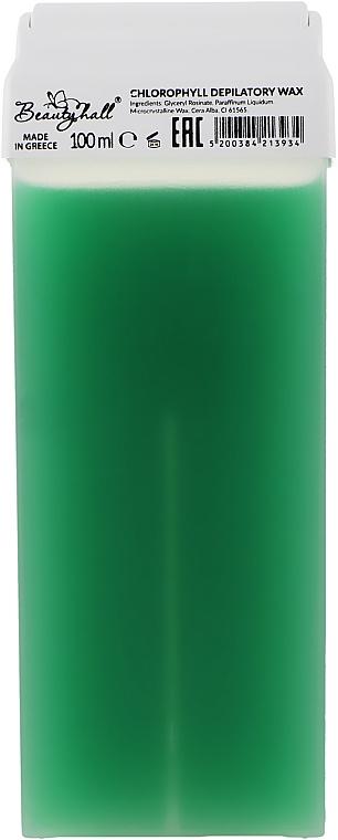 """Воск для депиляции в кассете """"Хлорофилл"""" - Beautyhall Chlorophyll Depilatory Wax"""
