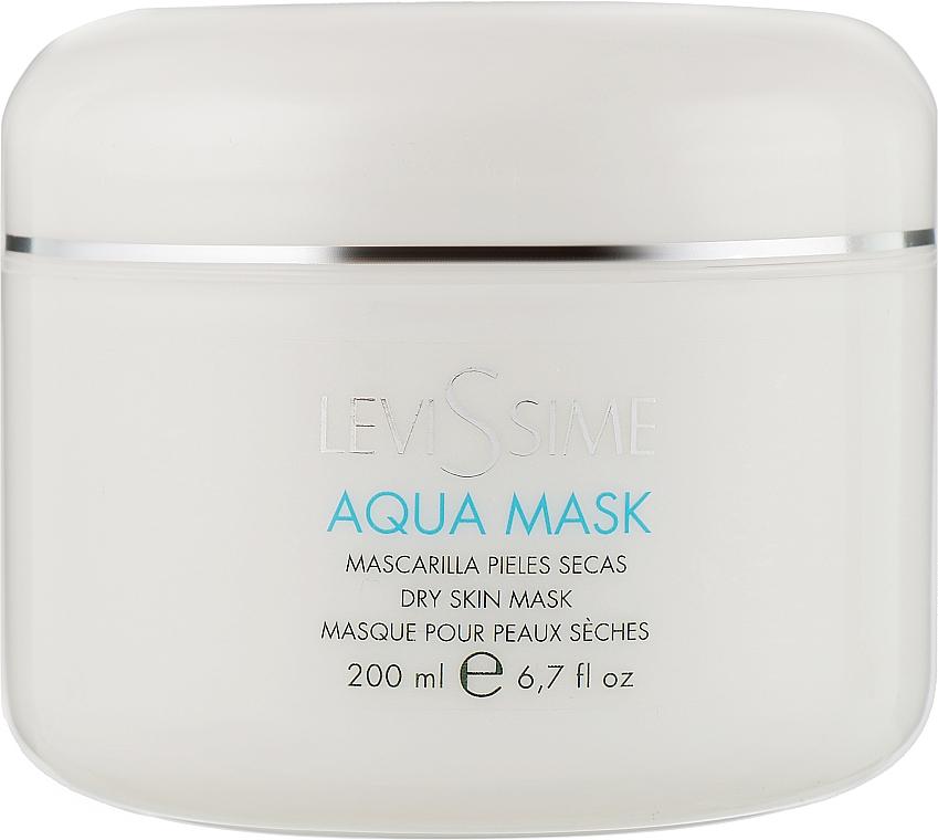 Увлажняющая кремовая маска для лица - LeviSsime Aqua Mask Dry Skins Mask