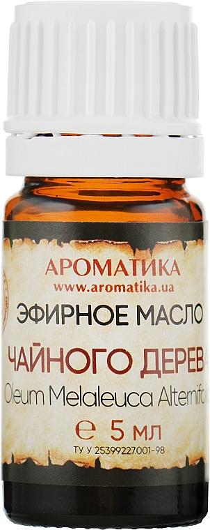 """Эфирное масло """"Чайного дерева"""" - Ароматика"""