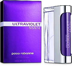 Духи, Парфюмерия, косметика Paco Rabanne Ultraviolet Man - Туалетная вода