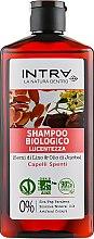 Духи, Парфюмерия, косметика Шампунь для блеска волос - Intra Linseed & Jojoba Oil Shampoo