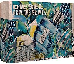 Духи, Парфюмерия, косметика Diesel Only The Brave - Набор (edt/50ml + sh/g/100ml)