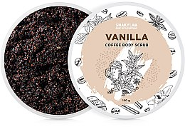 "Духи, Парфюмерия, косметика Кофейный скраб для тела ""Vanilla"" - SHAKYLAB Coffee Scrub Vanilla"