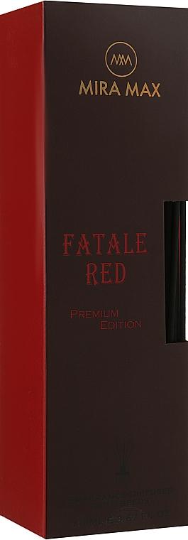 Аромадиффузор + тестер - Mira Max Fatale Red Fragrance Diffuser With Reeds Premium Edition