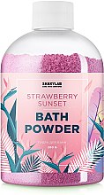 "Духи, Парфюмерия, косметика Пудра для ванны ""Strawberry Sunset"" - SHAKYLAB Magic Bath Powder"