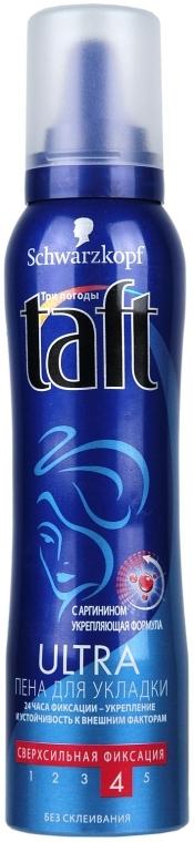 Пена для укладки волос сверхсильной фиксации - Schwarzkopf Professional Taft Ultra Mousse