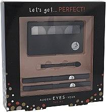 Духи, Парфюмерия, косметика Набор для макияжа глаз - Cosmetic 2K Lets Get Perfect Eyes Set2 Grey
