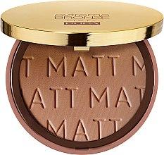 Духи, Парфюмерия, косметика Бронзирующая пудра для лица - Pupa Extreme Bronze Matt Powder