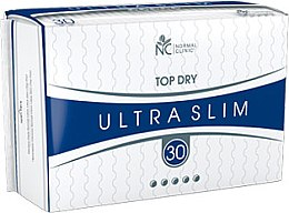"Духи, Парфюмерия, косметика Прокладки ""Ultra Slim Top Dry"" 5 капель, 30шт - Normal Clinic"