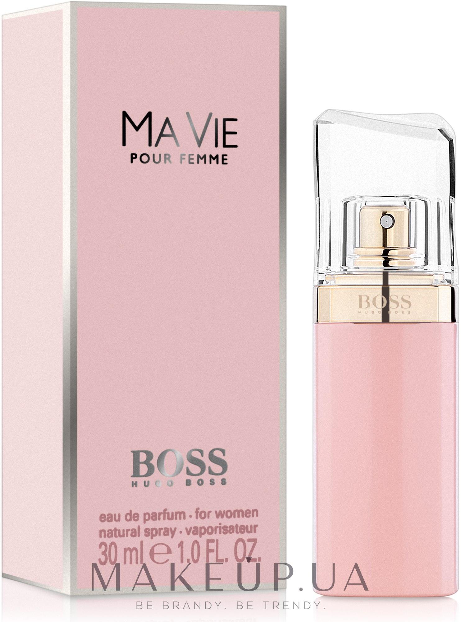 Makeup Hugo Boss Boss Ma Vie Pour Femme парфюмированная вода