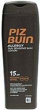 Духи, Парфюмерия, косметика Солнцезащитный лосьон для тела - Piz Buin Allergy Sun Sensitive Skin Lotion SPF15