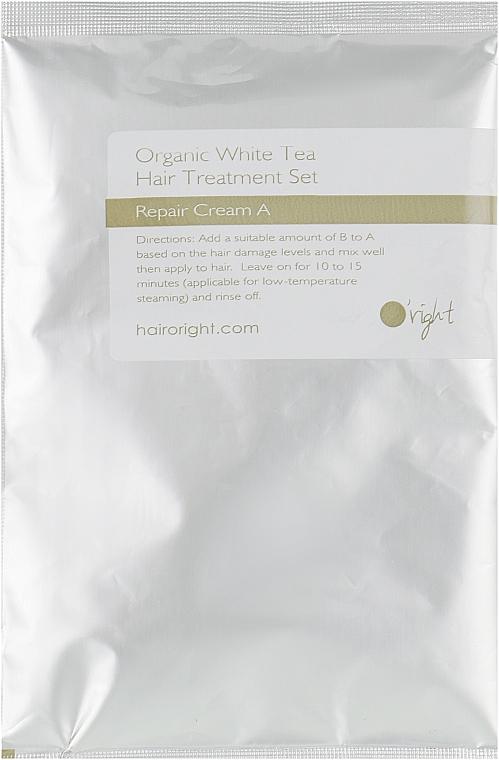 Органический набор для интенсивного ухода Белый чай - O'right (cr/50ml + serum/30ml)