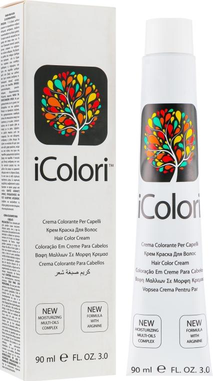 Крем-краска для волос - iColori Hair Care Cream Color
