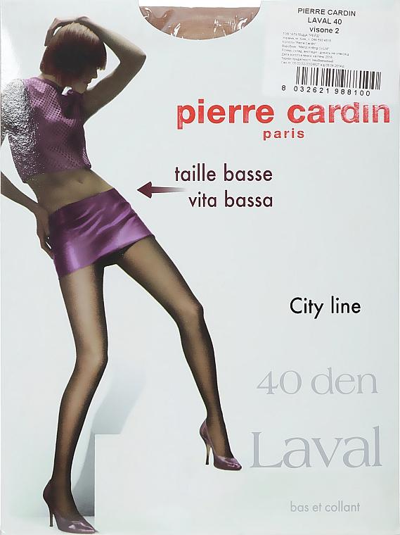 "Колготки для женщин ""Laval"" 40 Den, visone - Pierre Cardin"