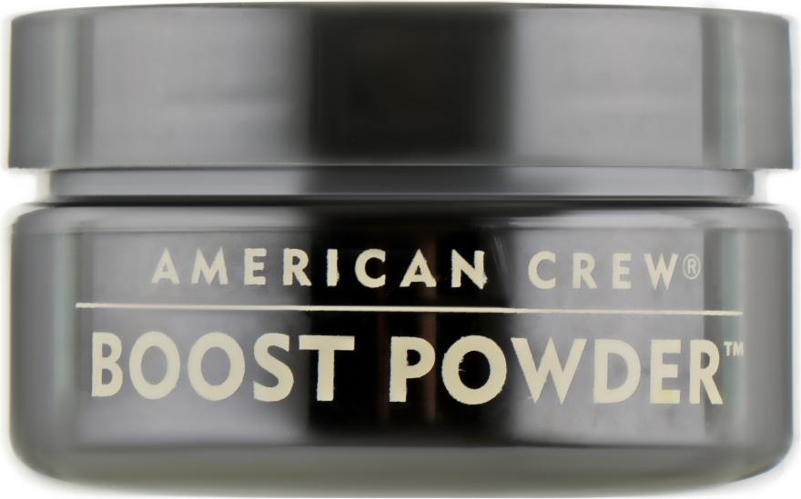 Антигравитационная пудра для объема с матовым эффектом - American Crew Boost Powder — фото N2