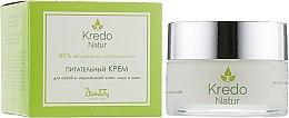 Питательный крем для сухой и нормальной кожи лица и шеи - Dzintars Kredo Natur Nourishing cream for dry and normal face and neck skin — фото N1