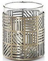 Духи, Парфюмерия, косметика Топпер для свечи - Yankee Candle Crosshatch Brass Votive Holder