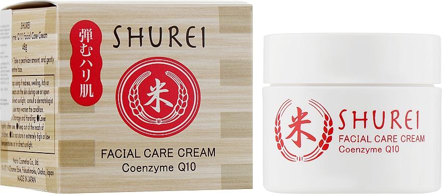 Защитный крем для лица с коэнзимом - Shurei Facial Care Cream Coenzyme Q10
