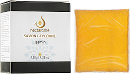 Духи, Парфюмерия, косметика Мыло глицериновое с жасмином - Nectarome Glycerine Soap Jasmine