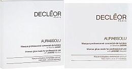 Духи, Парфюмерия, косметика Маска для интенсивного сияния кожи - Decleor Aurabsolu Intense Glow Mask