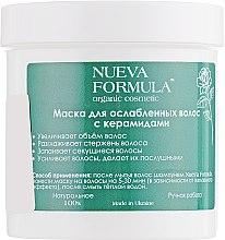 Духи, Парфюмерия, косметика Маска для ослабленных волос с керамидами - Nueva Formula