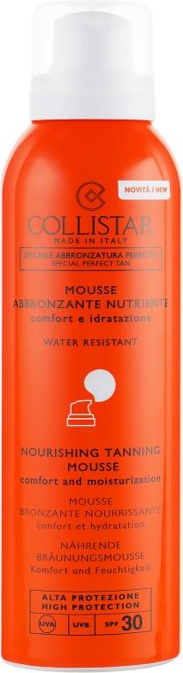 Мусс для защиты от солнца - Collistar Abbronzante Nutriente Mousse SPF 30