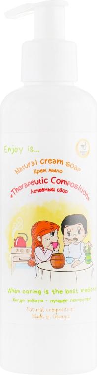 """Натуральное жидкое мыло """"Лечебный сбор"""" - Enjoy & Joy Eco"""