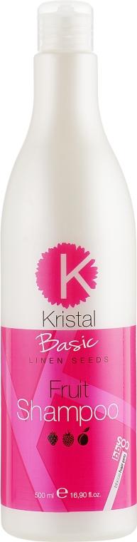 Фруктовый шампунь для волос - BBcos Kristal Basic Fruit Shampoo