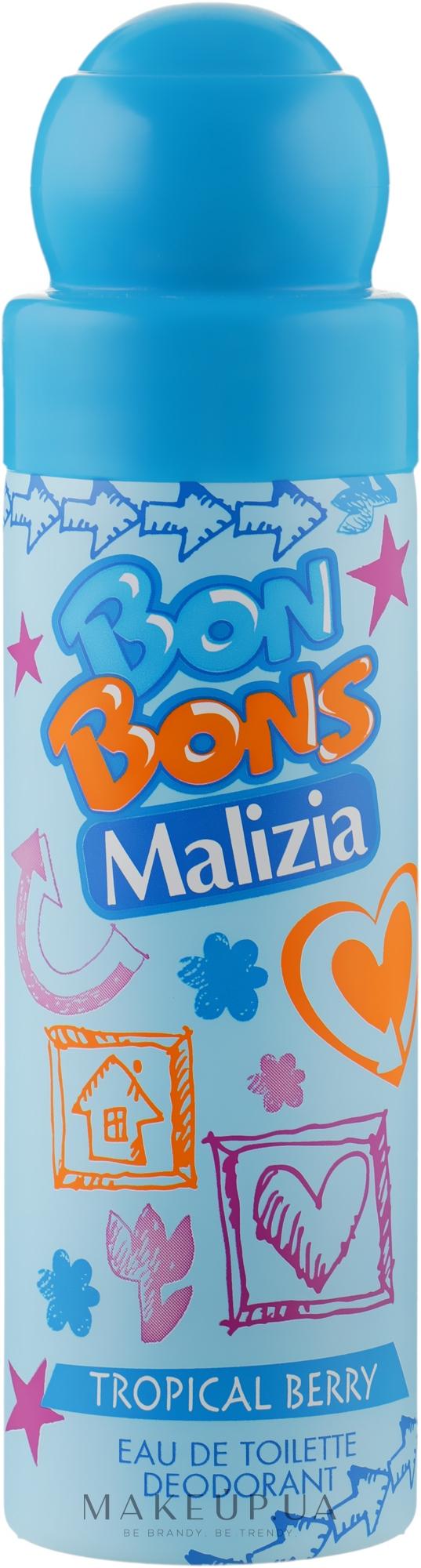 Дезодорант Tropical Berry - Malizia Bon Bons — фото 75ml