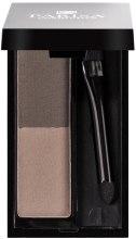 Тени+гель для бровей - Parisa Cosmetics Brow Kit — фото N2
