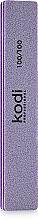"Духи, Парфюмерия, косметика Баф для ногтей ""Прямой"" - Kodi Professional lilac, 100/100"