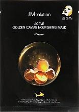 Духи, Парфюмерия, косметика Тканевая маска с золотом и икрой - JMsolution Active Golden Caviar Nourishing Mask Prime