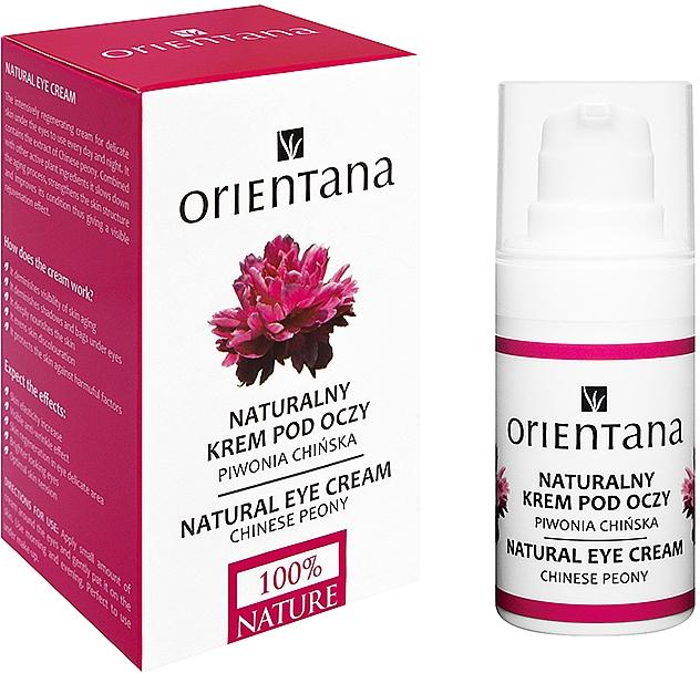 Крем для век - Orientana Bio Eye Cream Regenerating & Rejuvenating