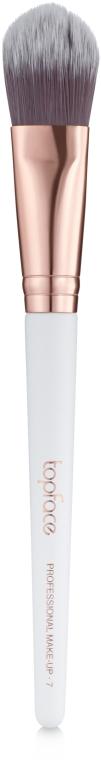 Кисть плоская для тональных основ F07 - Topface