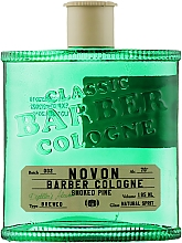 Духи, Парфюмерия, косметика Лосьон после бритья - Novon Professional Classic Barber Cologne Green Smoked Pine