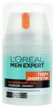 """Увлажняющий гель """"Ледяной эффект"""" - L'Oreal Paris Men Expert Hydra Energetic — фото N2"""